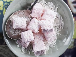 pink marshmallows