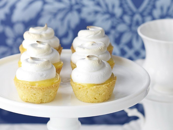 """How cute are these little [limoncello meringue pies?](http://www.foodtolove.com.au/recipes/limoncello-meringue-pies-25928