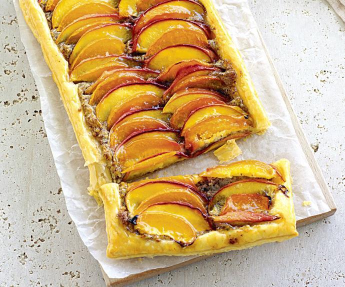 nectarine and apricot tarts