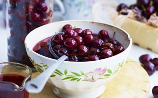 Cherries in brandy
