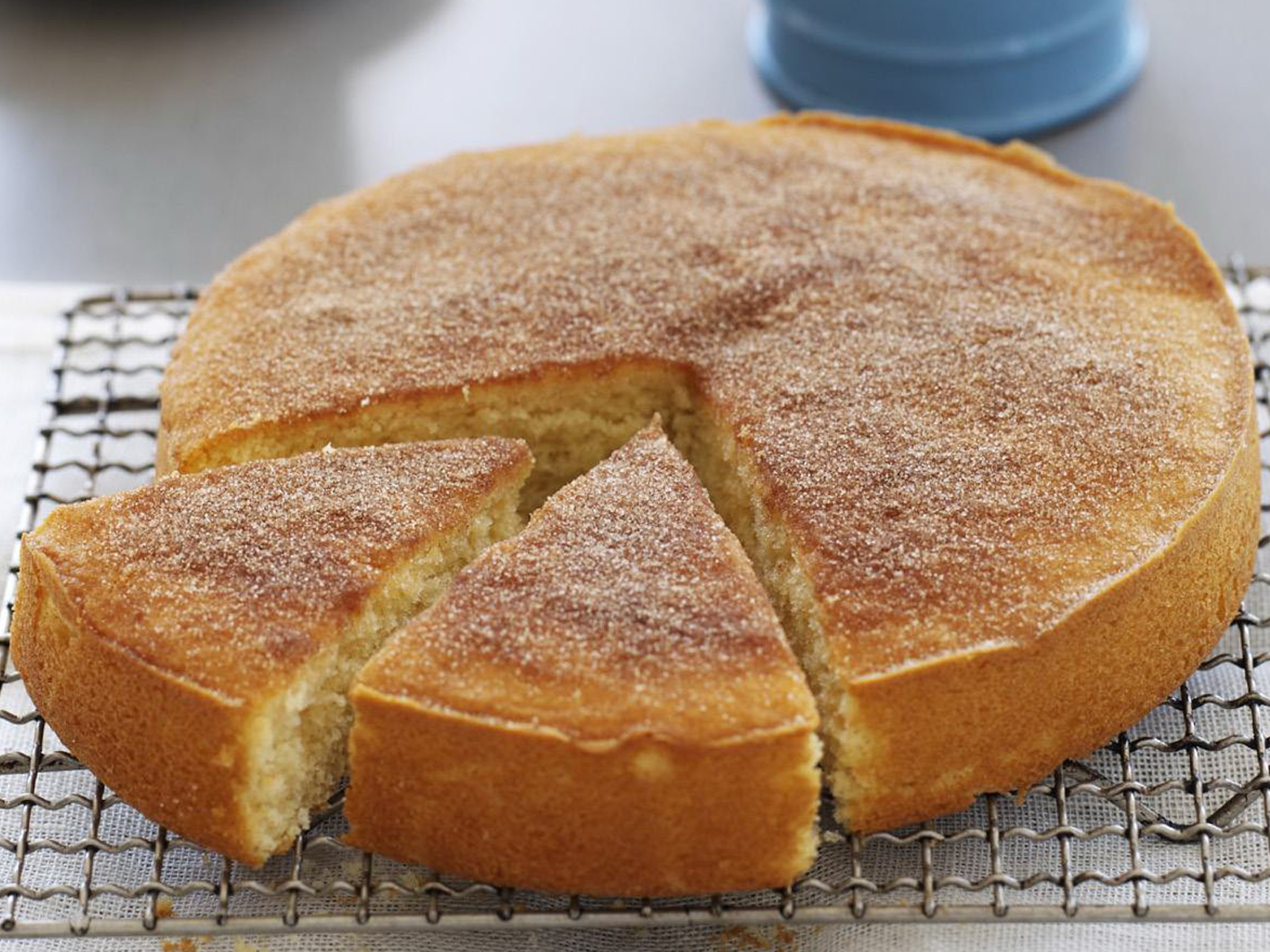 Simple Apple Tea Cake Recipe