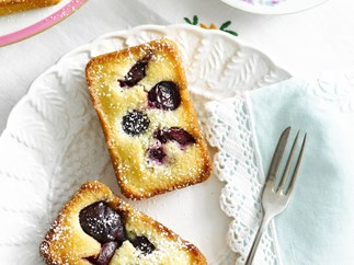 Cherry friands