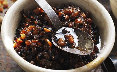 Three-in-one Christmas cake mix