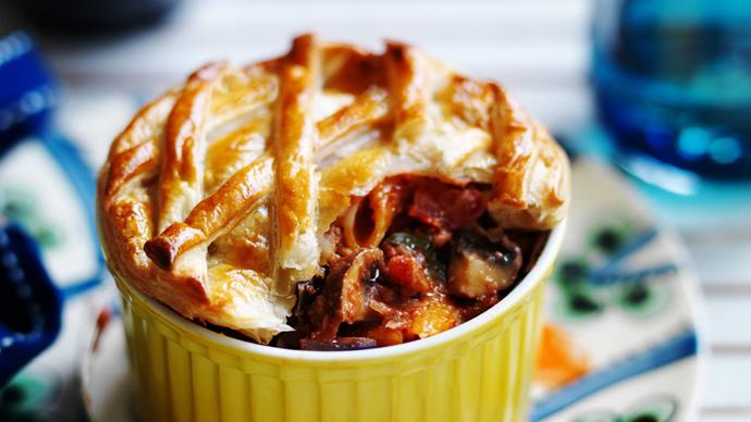 vegetarian pie recipes