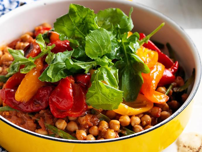 """**[Smoky chickpea stew](https://www.womensweeklyfood.com.au/recipes/smoky-chickpea-stew-27850