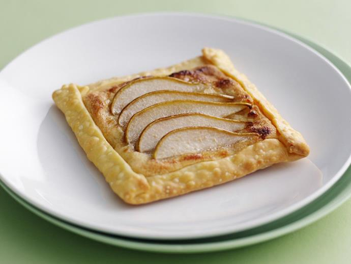 """**[Pear galette](https://www.womensweeklyfood.com.au/recipes/pear-galette-6564