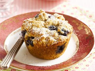 Classic blueberry muffins