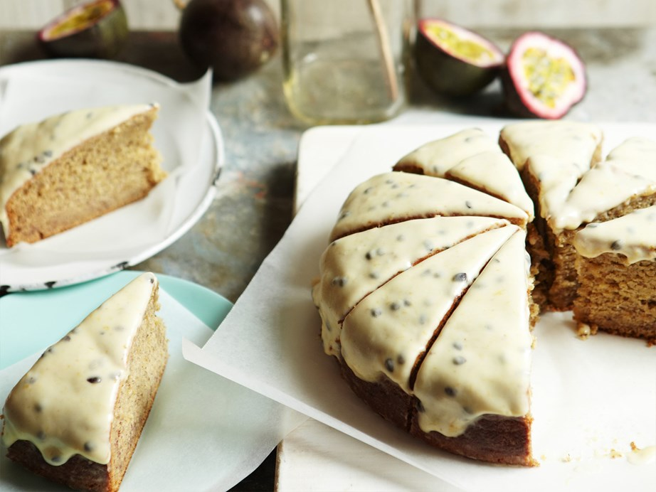 """Not so much a fan of cream cheese frosting? Give this [banana cake with passionfruit icing a whirl.](https://www.womensweeklyfood.com.au/recipes/banana-cake-with-passionfruit-icing-6692 target=""""_blank"""")"""