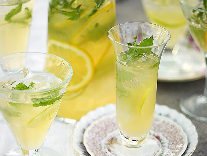 "**[Tea and rum punch](https://www.womensweeklyfood.com.au/recipes/tea-and-rum-punch-9571|target=""_blank"")**  Fruity and minty, tea and rum punch is a classic lunchtime or afternoon cocktail."