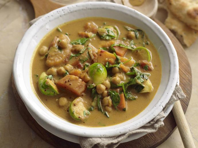 """**[Indian vegetable curry](https://www.womensweeklyfood.com.au/recipes/indian-vegetable-curry-13706