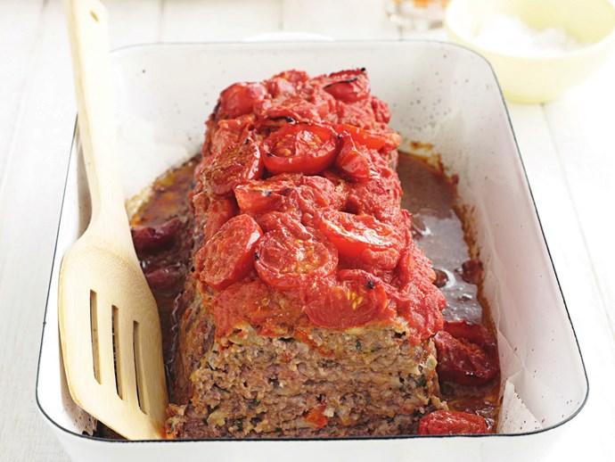 Self-saucing meatloaf