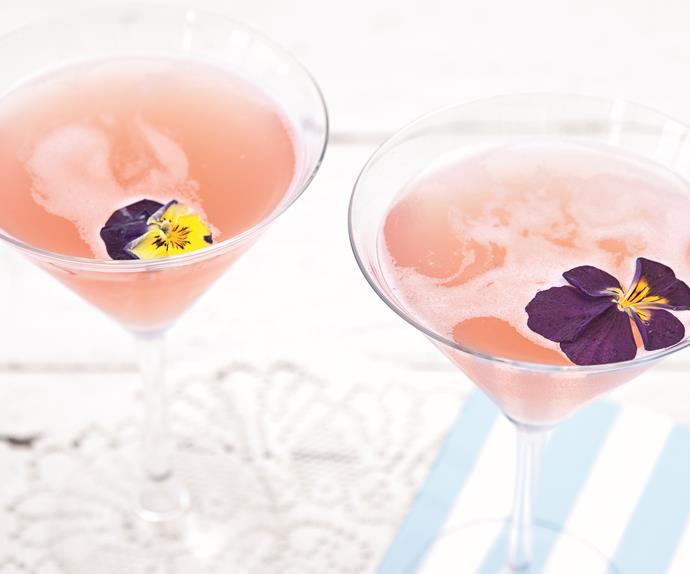 Lillet spring gin cocktail