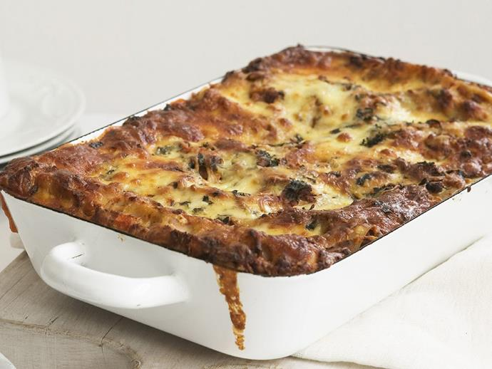 """**[Beef lasagne](https://www.womensweeklyfood.com.au/recipes/beef-lasagne-6958