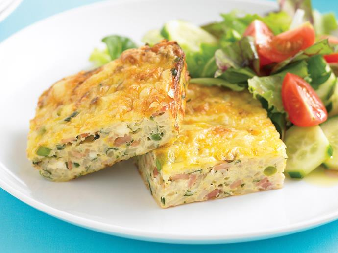 """**[Zucchini slice](https://www.womensweeklyfood.com.au/recipes/zucchini-slice-6436