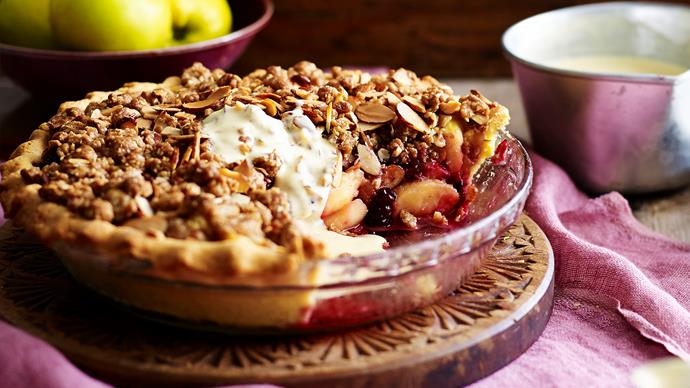 Sweet crumbles to get you through the cooler months