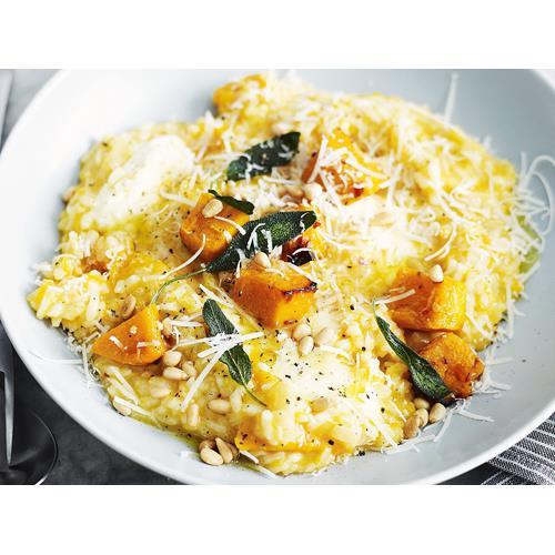 Pumpkin Sage Risotto Food Network