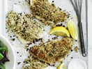 Crispy Parmesan-crusted fish fillets
