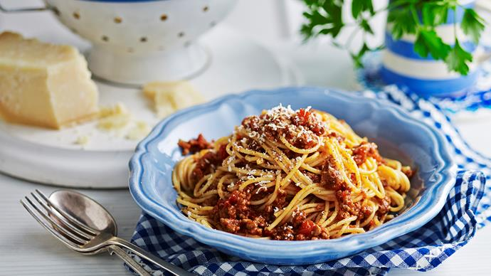 Julie Goodwin's 6-hour bolognese