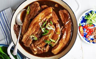 Julie Goodwin's braised pork