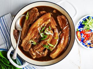 Julie Goodwin's braised pork