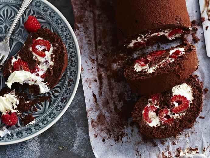 "[Decadent chocolate roulade recipe.](https://www.womensweeklyfood.com.au/recipes/decadent-chocolate-roulade-6700|target=""_blank"")"