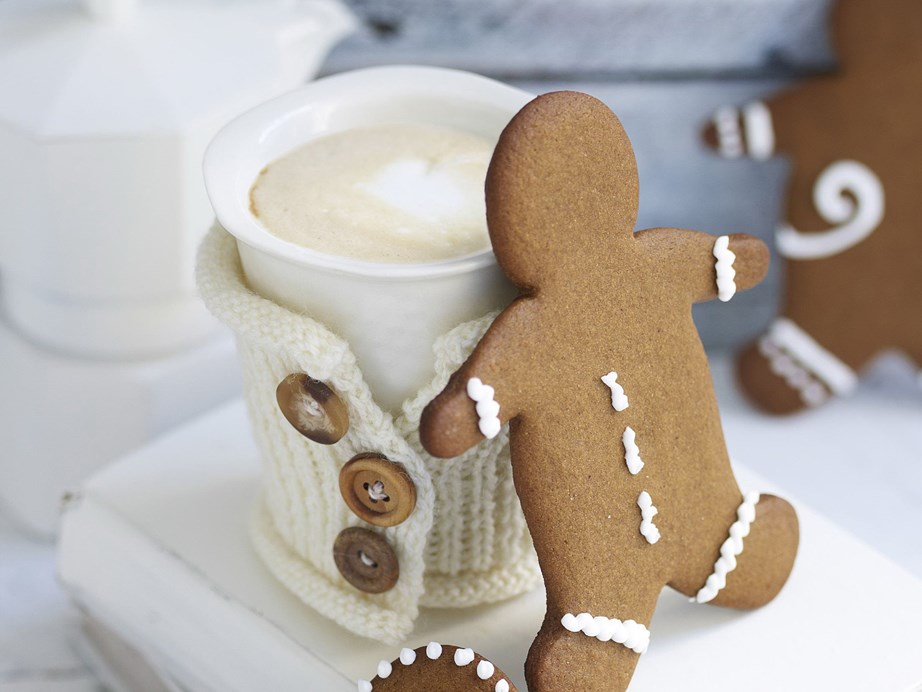 "Classic [gingerbread men](https://www.womensweeklyfood.com.au/recipes/gingerbread-folk-23951|target=""_blank"") are a must-eat at Christmas and simply delicious alongside a warm cup of eggnog."