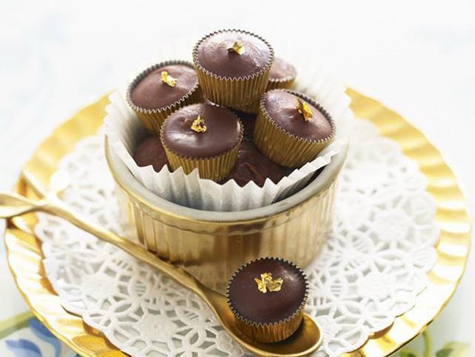 **15 minutes**. [Frozen raspberry truffles via Food To Love](http://www.foodtolove.com.au/recipes/frozen-raspberry-truffles-17870).