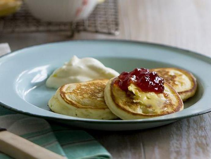 """**[Golden syrup pikelets](https://www.womensweeklyfood.com.au/recipes/golden-syrup-pikelets-6809