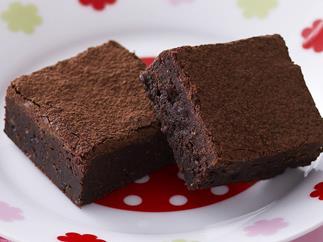 Gluten-free chocolate fudge brownies