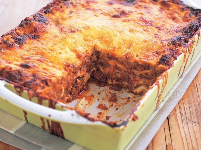 "**[Lasagne bolognese](https://www.womensweeklyfood.com.au/recipes/lasagne-bolognese-7394|target=""_blank"")**  This is the way lasagne is traditionally made in Bologna ­with chicken liver and milk in the sauce. You'll never go back to your old lasagne recipe again after you taste our version."