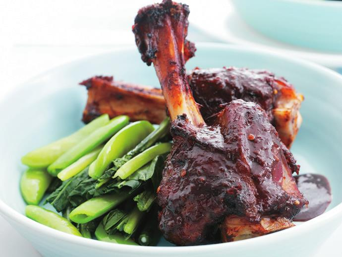 """**[Lamb shanks in five-spice, tamarind and ginger](https://www.womensweeklyfood.com.au/recipes/lamb-shanks-in-five-spice-tamarind-and-ginger-7037