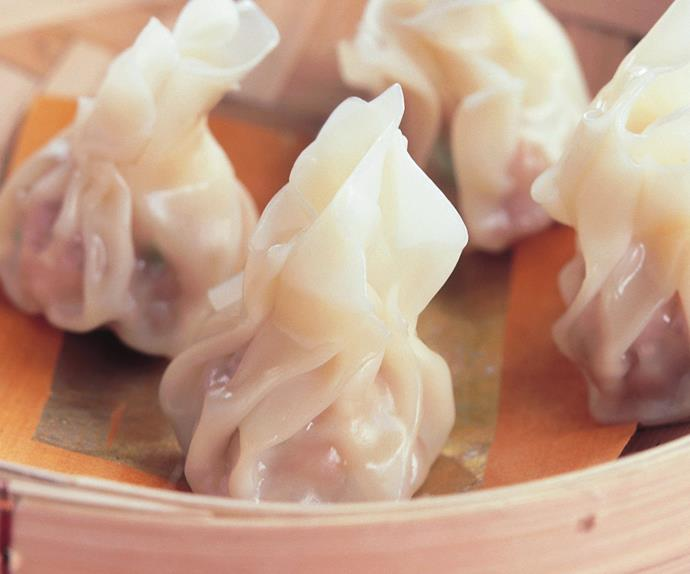 Little pork dumplings