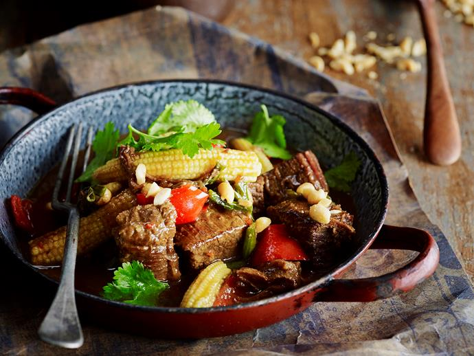 "Slow cooked to tender perfection, this [fragrant beef brisket](https://www.womensweeklyfood.com.au/recipes/vietnamese-beef-brisket-28675|target=""_blank"") is beautiful served atop steamed rice. With Asian spices and vegetables, this beautiful Vietnamese dish is great enjoyed straight out of the slow cooker."