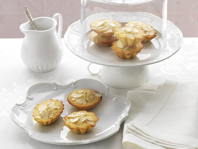 """**[Orange blossom friands](https://www.womensweeklyfood.com.au/recipes/orange-blossom-friands-14349
