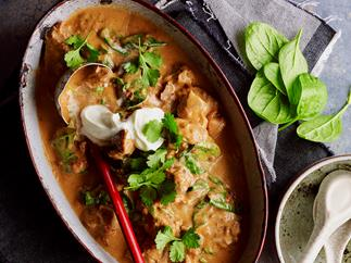 Peppered pork curry