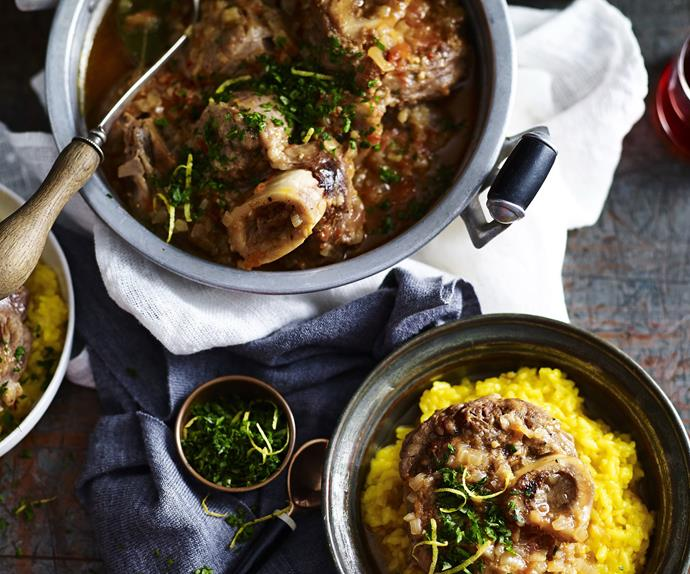 Osso buco milanese