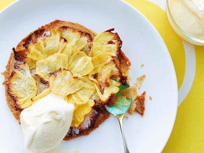 """**[Macadamia filo tarts with caramelised pineapple](https://www.womensweeklyfood.com.au/recipes/macadamia-filo-tarts-with-caramelised-pineapple-20058 target=""""_blank"""")**  This gorgeous macadamia filo tart is topped with sweet pineapple that channel beautiful tropical vibes. Enjoy it warm or cool with a dollop of ice-cream for an indulgent dessert."""