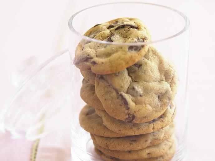 """There are few biscuits more loved than the classic [chocolate chip cookie](https://www.womensweeklyfood.com.au/recipes/choc-chip-cookies-28703