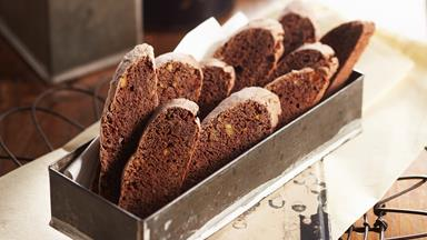 Jaffa biscotti