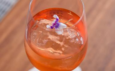 Rose gold cocktail