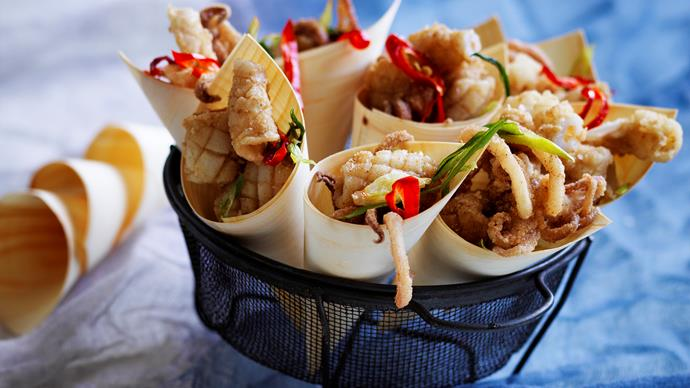 squid recipes for appetizers