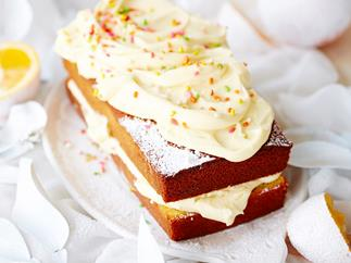 Orange and fennel seed pound cake