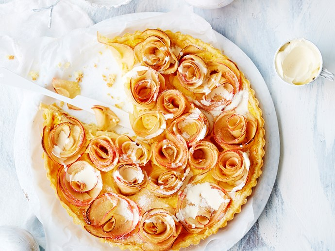 [Apple and cardamon tart. For recipe, click here](http://www.foodtolove.com.au/recipes/apple-and-cardamom-tart-18406)