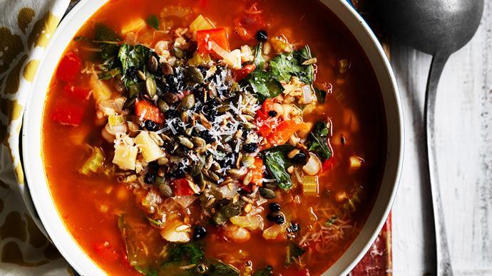 Australian Women's Weekly soup recipes