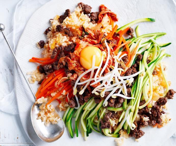Rice-cooker bibimbap