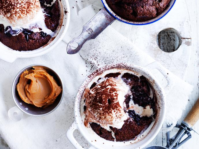 "These heavenly [chocolate and dulce de leche puddings](https://www.womensweeklyfood.com.au/recipes/chocolate-and-dulce-du-leche-puddings-28905|target=""_blank"") are the perfect way to end a meal! Sweet, rich, and easy to prepare - what more could you want!"