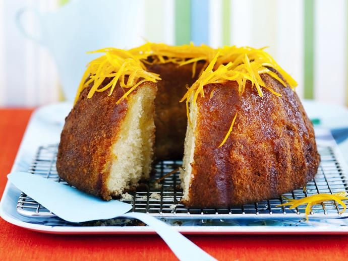 "**[Gluten-free orange syrup cake](https://www.womensweeklyfood.com.au/recipes/gluten-free-orange-syrup-cake-15239|target=""_blank"")**  Syrup cakes are popular in many parts of the world, using local spices or fruit to add moisture and flavour. This orange flavoured gluten free version is light and delicious. Enjoy it on its own or with a little whipped cream."