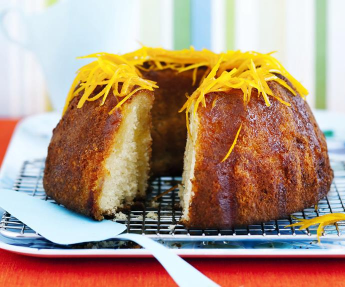 gluten-free orange syrup cake