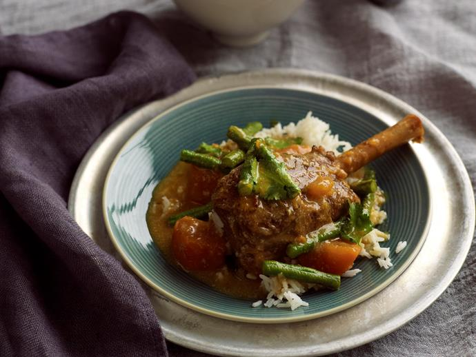 "Spice up dinner tonight with these juicy and succulent [red curry lamb shanks](https://www.womensweeklyfood.com.au/recipes/red-curry-lamb-shanks-28949|target=""_blank"") - full of delicious Asian inspired flavour, this dish is sure to become a family favourite!"