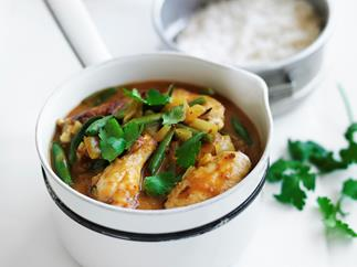 Peri peri coconut chicken curry
